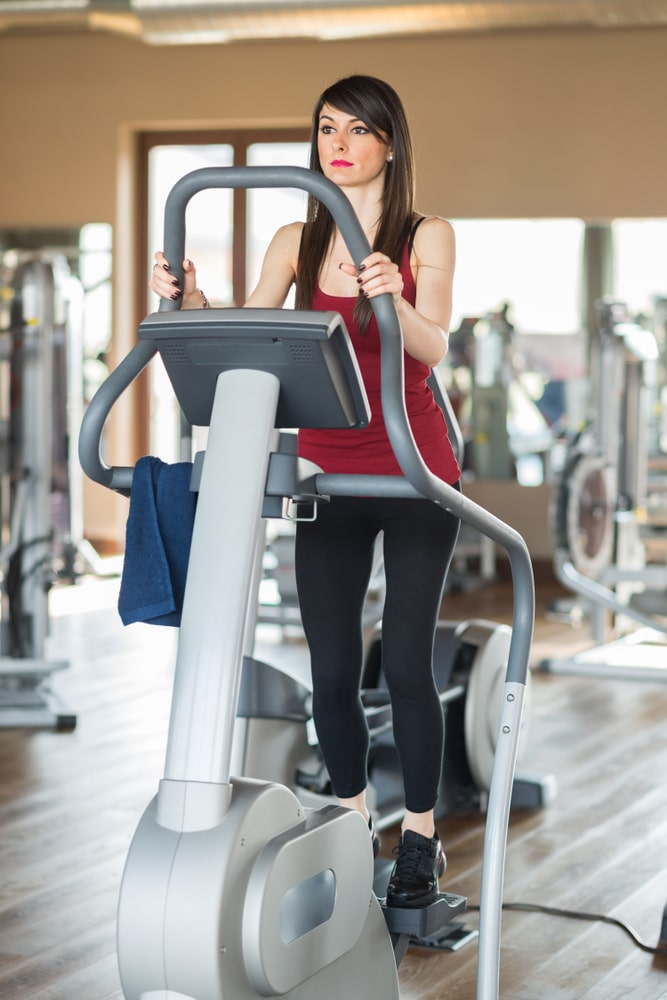 elliptical trainer or step machine